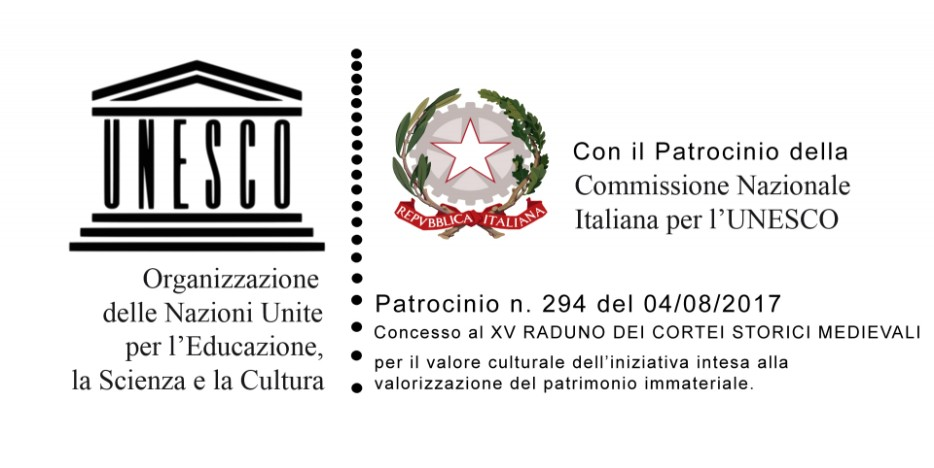 Patrocinio dell'Unesco